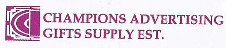 Champions Advertising Gifts Supply Est.