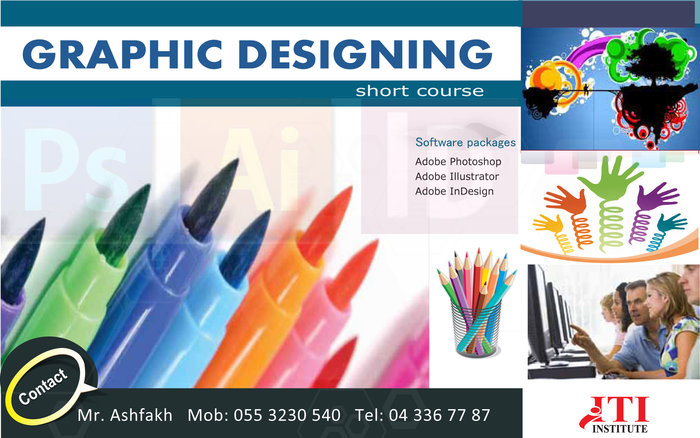 Graphic Designing Training in Dubai