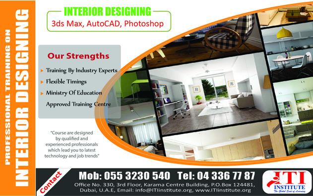 Interior Designing Training In Dubai