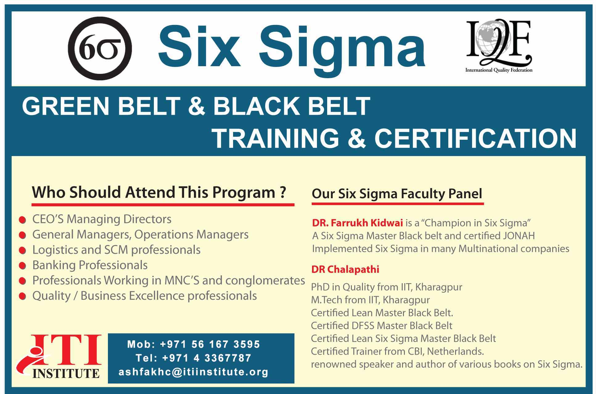 Six sigma green belt and black belt from iqf usa greensmedia six sigma green belt and black belt from iqf usa 1betcityfo Images